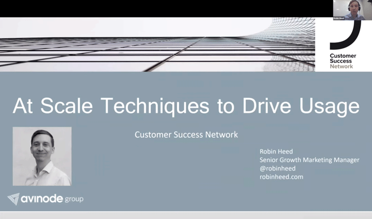 At Scale Techniques to Drive Usage