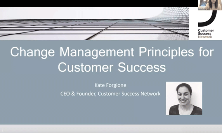 Change Management for Customer Success