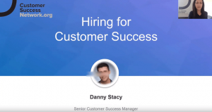 Hiring for customer success